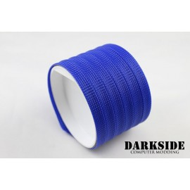 "DarkSide 10mm (3/8"") High Density SATA Cable Sleeving - Dark Blue UV (DS-0111)"