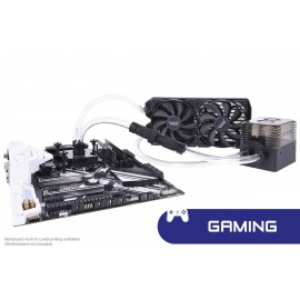 Alphacool Eissturm Gaming Copper 30 2x120mm - Complete Kit (11466)