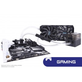 Alphacool Eissturm Gaming Copper 30 2x140mm - Complete Kit (11467)
