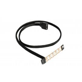 Watercool HEATKILLER® LED Stripes - Size XS angled - Addressable RGB (78039)