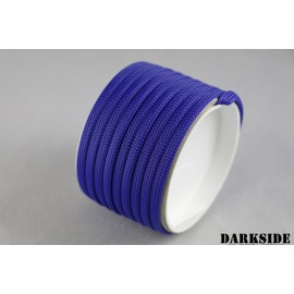 "Darkside 6mm (1/4"") High Density Cable Sleeving - Dark Blue UV (DS-HD6-BLU)"
