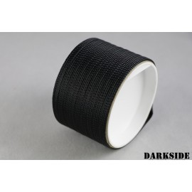 "Darkside 6mm (1/4"") High Density Cable Sleeving - Black (DS-HD6-BLK)"