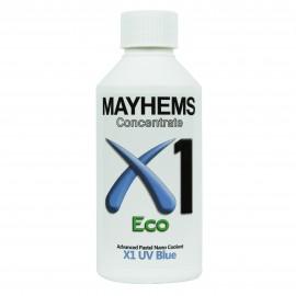 Mayhems X1 V2 Concentrate Coolant - UV Blue | 250ml (MX1UVB250)