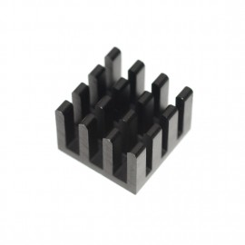 3M-8810 Aavid Thermalloy Premium Black Heat Sink - 14mm x 14mm x 10mm (3M-8810-14)