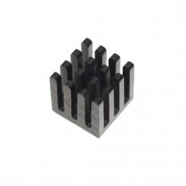 Black Chipset Heatsink - 10mm x 10mm x 10mm (CSHS-10)
