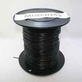 MMM 18 AWG  Ul1007 Hookup Wire 25' - Black (MOD-0147)