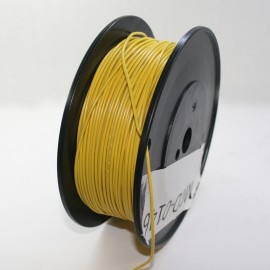 MMM 18 AWG  Ul1007 Hookup Wire 25' - Yellow (MOD-0150)