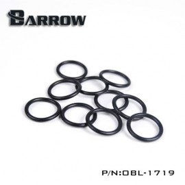 Barrow Replacement O-ring Set for Acrylic/Hard Tube - 10pcs - Black (OBL-1719)