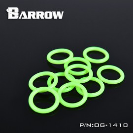"Barrow Replacement G1/4"" O Ring - 10pcs - Green (OG-1410)"