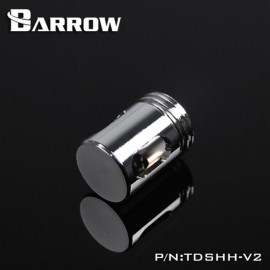 "Barrow G1/4"" Anti-Cyclone Adaptor Fitting - Silver (TDSHH-V2-Silver)"