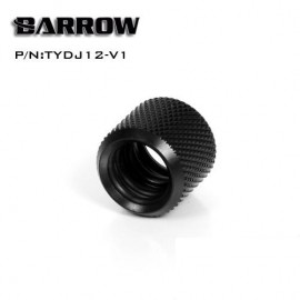 Barrow Multi-Link Coupler Adapter - 12mm OD Rigid Tube - Black (TYDJ12-V1)