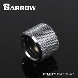 Barrow Multi-Link Coupler Adapter - 16mm OD Rigid Tube - Silver (TYDJ16-V1-Silver)